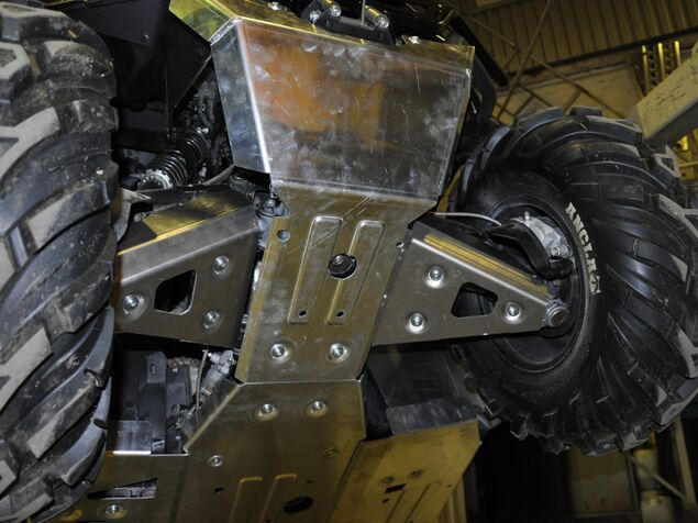 Skid plate set for CFMOTO CFORCE 600 TOURING