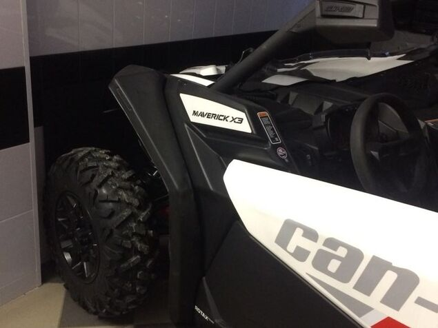 Fender extension for UTV BRP Maverick Х3 XDS