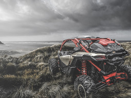 The rear cargo box for BRP Maverick X3