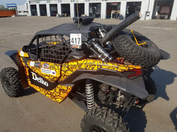 Fender extension for UTV BRP Maverick Х3 XRS