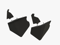 Door panels set CFMOTO ZFORCE Z950 2020
