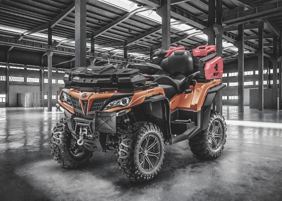 CFMOTO ATV and UTV box and cans